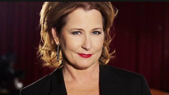 Anna Hedenmo, ordförande i Publicistklubben. Foto: SOFIA SABEL/SVT