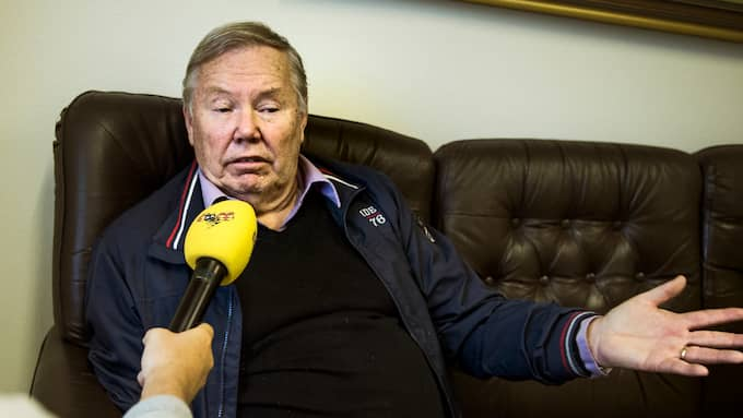 Bert Karlsson är missnöjd med mycket i Skara kommun. Foto: ROBIN ARON