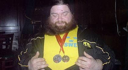 """""""Jag är jävligt nöjd. Det skulle egentligen inte gå att ta medalj om man ser till omständigheterna"""", säger Johnny Wahlqvist. Foto: Kent Hansson"""
