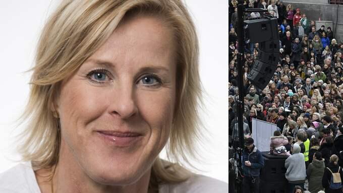 Åsa Fahlén, ordförande för Lärarnas riksförbund uppmanar skolor att lyfta #metoo i klassrummet.