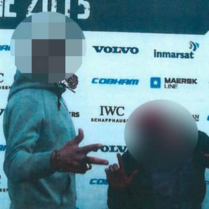 De två mordmisstänkta tonåringarna har levt som gatubarn i flera europeiska länder. I Göteborg besökte den huvudmisstänkte, till vänster, i somras Volvo Ocean Race. Foto: Polisen