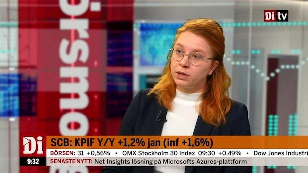 """Lägre inflation än väntat: """"Jag blev väldigt förvånad"""""""
