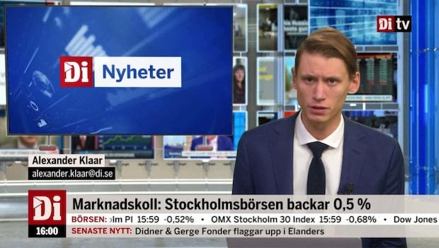Di Nyheter 16:00 – USA-börserna pekar uppåt