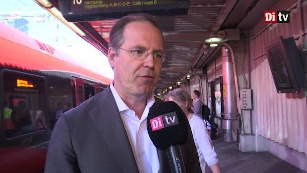 """Borg: """"Förutsättningarna för att bygga bolag i Sverige är goda"""""""