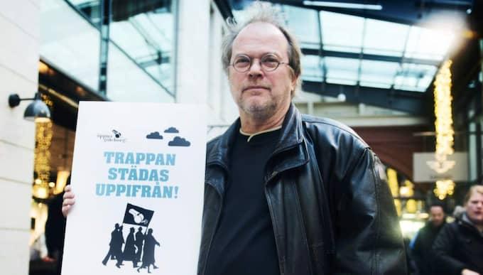 Inför valet 2014 startade Dennis Töllborg ett lokalt parti, Öppna Göteborg, med syfte att komma åt korruption och maktmissbruk. Satsningen havererade dock. Foto: Robin Aron