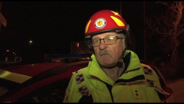 Räddningstjänstarbetares radhus utsatt för sprängladdning