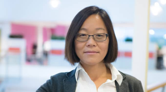 Lena Sparring, kvalitetschef på Ica. Foto: Ica