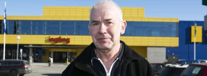 Kjell Hansson, 60+, pensionär, Uddevalla: - Det tycker jag inte om. Trodde inte det kunde vara hästkött i köttbullarna. Foto: Jan Wiriden