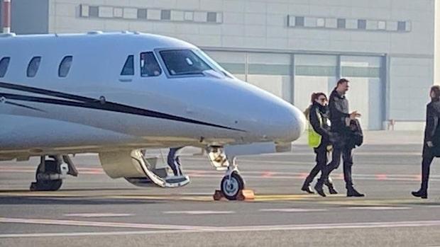 Här landar Zlatan i Milano