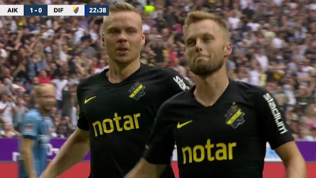 Höjdpunkter: AIK-Djurgården