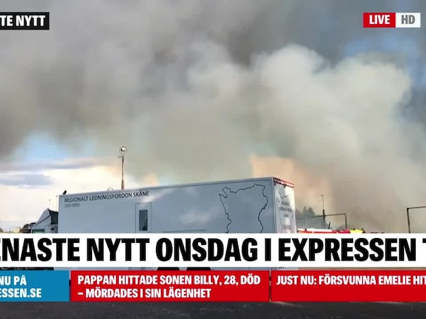 Notan efter järnvägsbranden: 30 miljoner