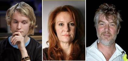 Björn Gustafsson, Maria Lundqvist och Jakob Eklund hamnade mitt i ett flygdrama på väg till Cannes.