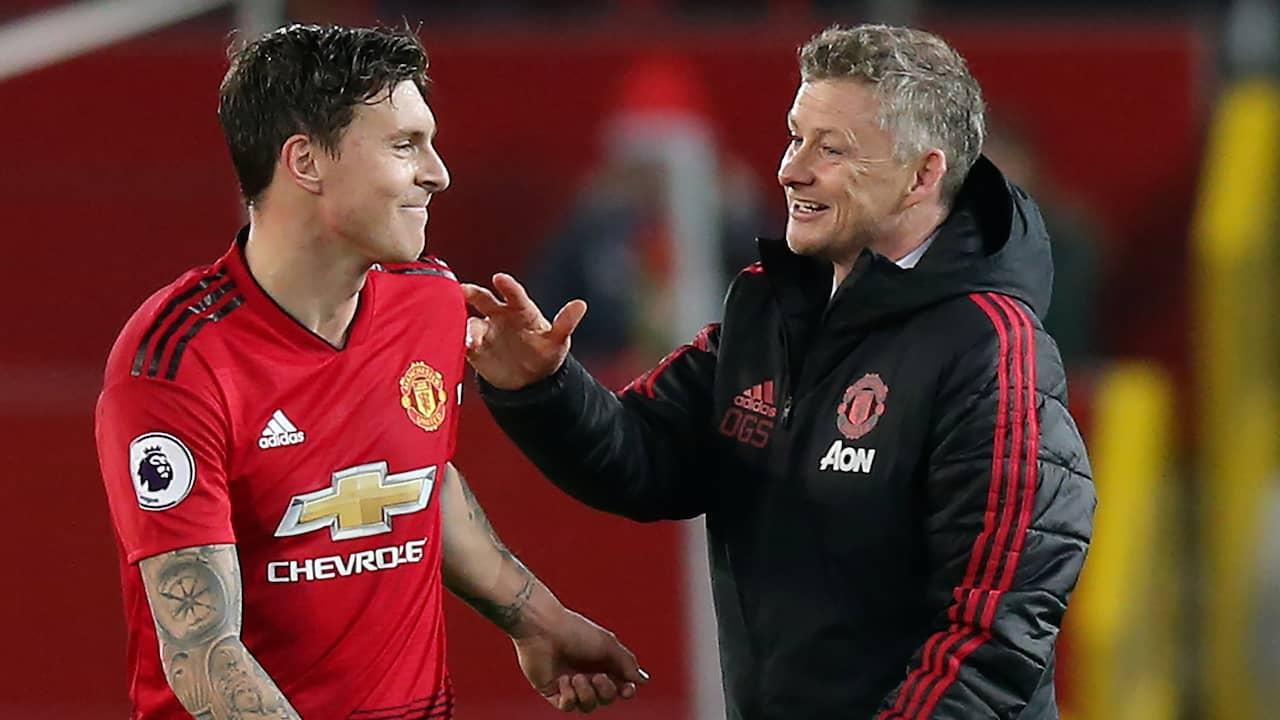 Manchester united vann utan nilsson lindelof
