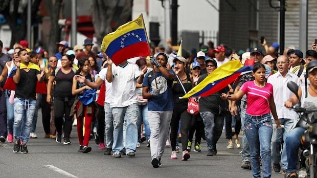 Venezuela bryter diplomatiska kontakter med USA