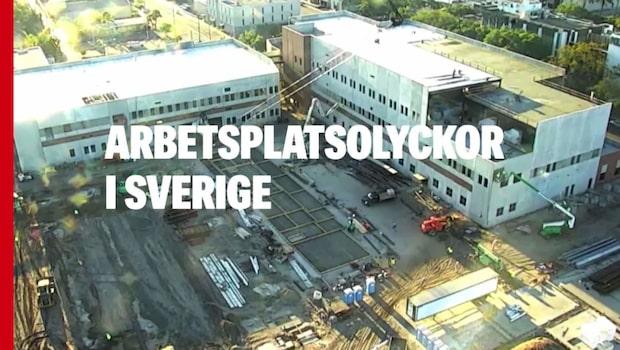 Arbetsplatsolyckor i Sverige
