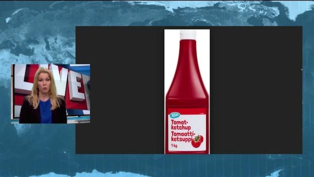Coop återkallar ketchupflaskor