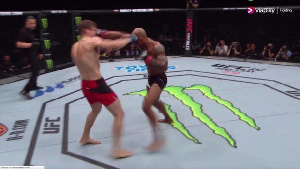 UFC-comebacken blev tung för Nico Musoke