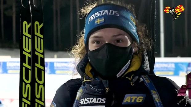 """Hanna Öberg inför premiären: """"Aldrig gjort det"""""""