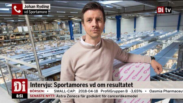 """Sportamores vd: """"Äntligen har vårvädret kommit – starten på april är bra"""""""