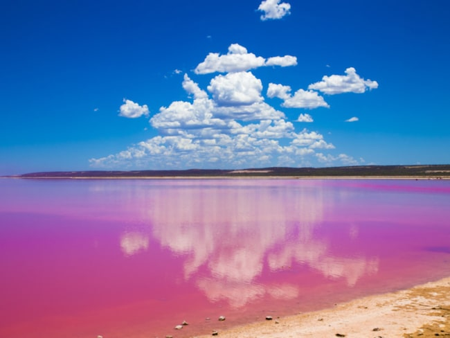 <span>Hutt Lagoon, Australien.</span>