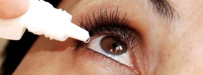 ögon som rinner och svider