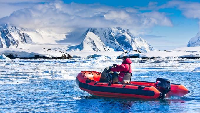 Forskarna tror att issmältningen beror på väderfenomentet El Niño. Foto: VOLODYMYR GOINYK / © VOLODYMYR GOINYK, ANTARCTICA 2008-2009