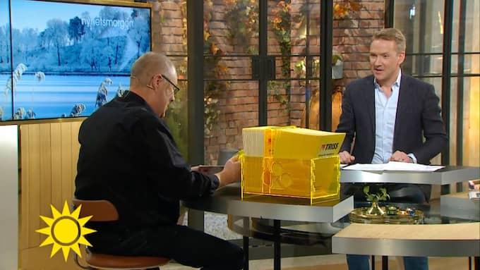 Jan Larsson, 62, från Lidköping är nybliven miljonär. Foto: TV4