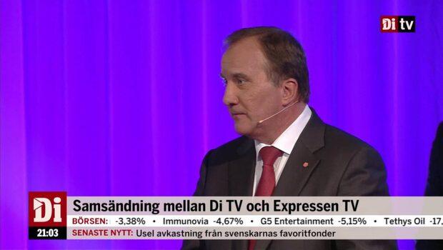 Löfven (S): Så är jag när jag är pressad