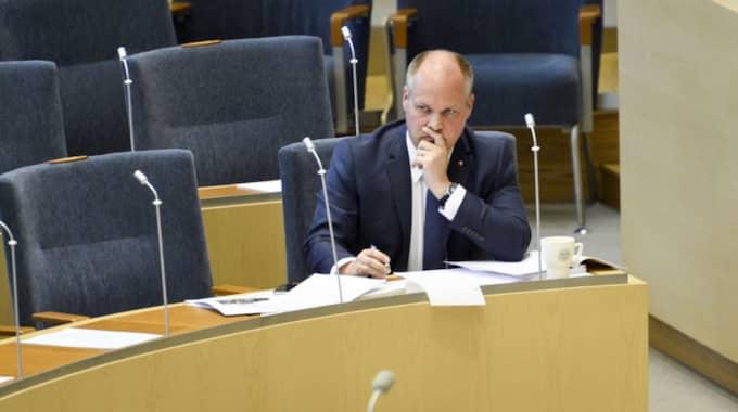 Migrations-och justitieminister Morgan Johansson. Foto: Izabelle Nordfjell/Tt / TT NYHETSBYRÅN
