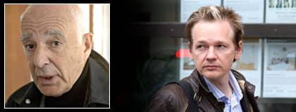 """Våldtäktsmisstänkte Julian Assange är inte nöjd med Leif Silbersky och vill byta advokat. """"Vill han byta så får han gärna byta, jag har inget emot det"""", säger en förvånad Silbersky. Foto: ROGER VIKSTRÖM"""