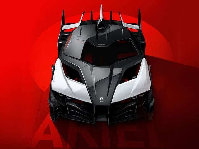 Fyrhjulsdriven el-värsting med 1 180 hästkrafter – Ariel Hipercar ska revolutionera bilbranschen enligt tillverkaren.