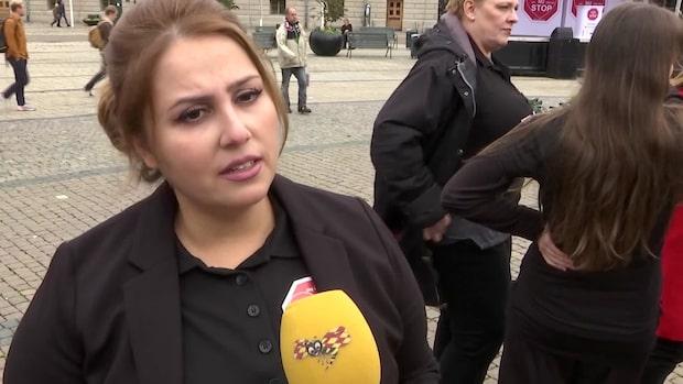 """Mammorna i protest mot våldet: """"Alla måste agera"""""""