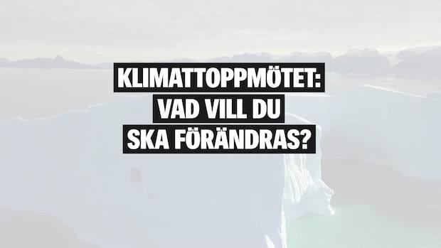 Vad vill unga se för förändringar efter klimatmötet COP25?