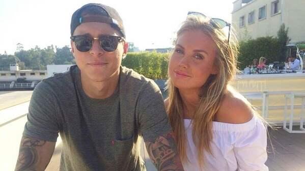 Victor Nilsson-Lindelöf och Maja Nilsson. Foto: / INSTAGRAM
