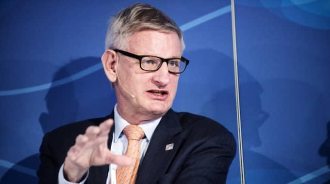 Carl Bildt dementerar ryktet som sprider sig i Ryssland. Foto: Anna-Karin Nilsson