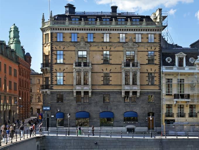 Ratos lokaler på Drottninggatan 2. Foto: BENGT ALM©FOTOGRAF