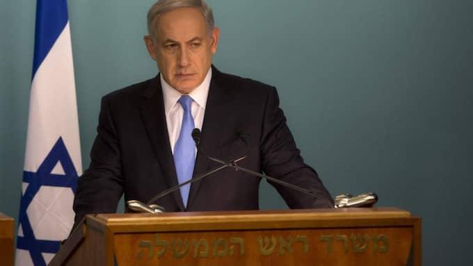 Israels premiärminister Benjamin Netanyahu. Foto: Sebastian Scheiner