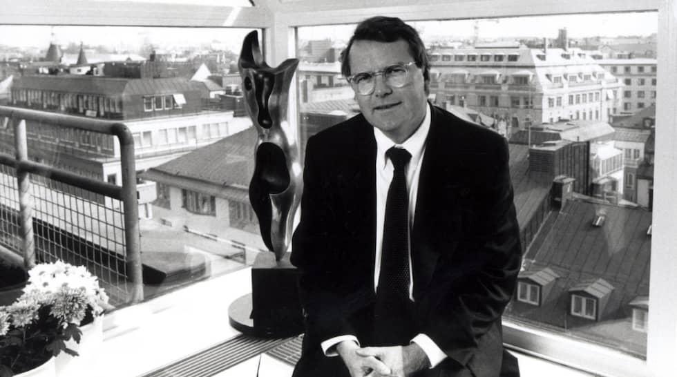 Fastighetsklipparen Hans Thulin var på 80-talet en av Sveriges rikaster personer. Hans bolag var värda sex miljarder kronor. Men i början av 90-talet slutade det med en konkurs på svindlande tre miljarder kronor. Foto: Claes Löfgren / SVD