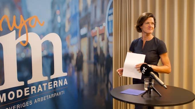 Anna Kinberg Batra, före detta M-ledare. Foto: THOMAS ENGSTRÖM