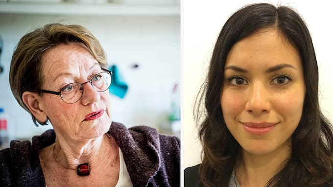 Gudrun Schyman och Sarah Nilsson Dolah, Feministiskt initiativ.