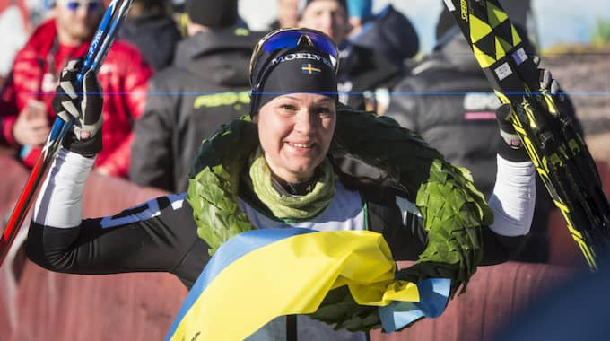 Britta Johansson Norgren öppnar för OS-comeback. Foto: Henrik Hansson / HENRIK HANSSON EXPRESSEN