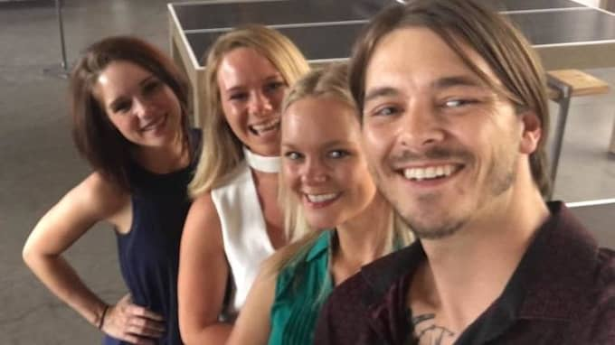 Syskonen Lauren Rutherford, Ashley Bo, Christina Housel och Lyle James Berryman. Foto: Facebook