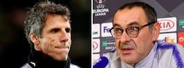 Chelsea-tränaren förd till  sjukhus inför MFF-mötet