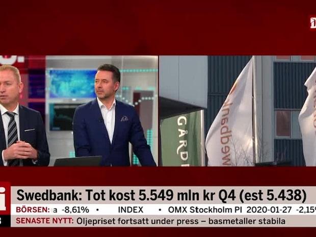 Olavi om Swedbanks rapport: Jag tror det kommer komma nedrevideringar