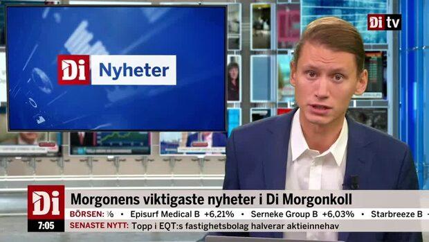 Di Morgonkoll: Klarna tar in 5,7 miljarder kronor
