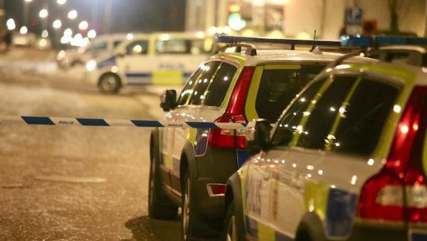 Larm om skottlossning i Spånga i Stockholm