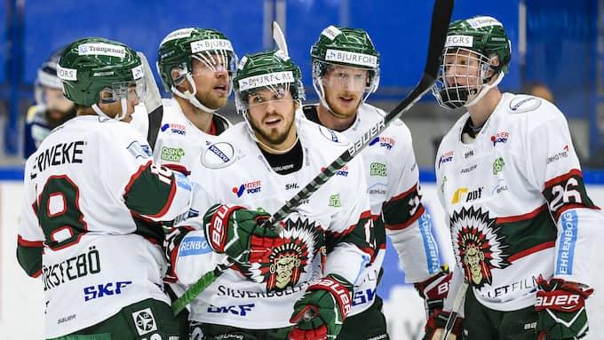 Frölunda är favorit till SM-guldet i ishockey. Foto: JONAS LJUNGDAHL/BILDBYRÅN