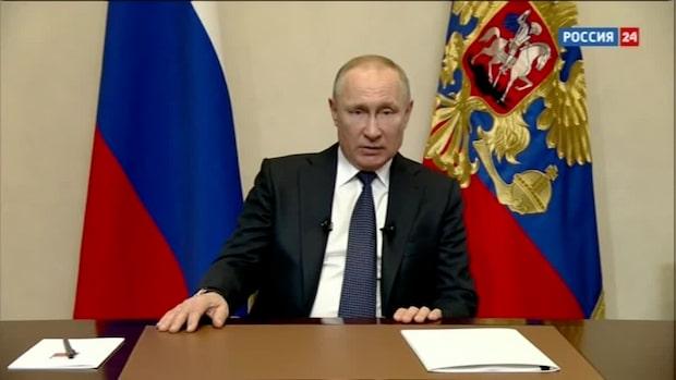 Putin: Ryssland har godkänt ett vaccin mot covid-19