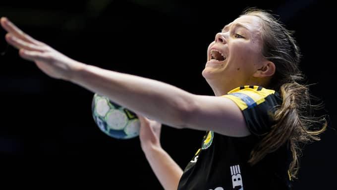 Olivia Mellegård gjorde åtta mål mot Boden. Foto: MICHAEL ERICHSEN / BILDBYRÅN