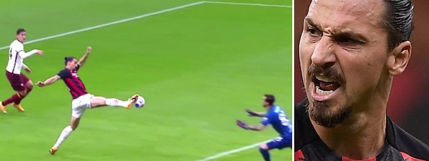 Zlatans succé! Se båda fullträffarna mot Roma
